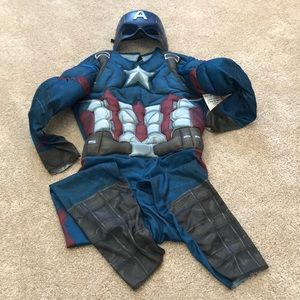 Other - NWT Civil war captain America 2 piece costume